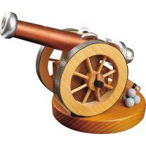 Historische Kanone - für Räucherkerzen