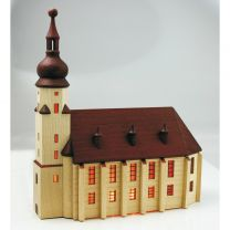 Stadtkirche (Vorbild Schwarzenberg) - für Innenbeleuchtung natur