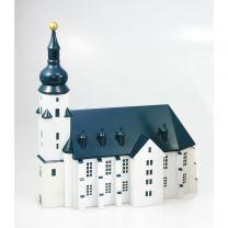 Stadtkirche (Vorbild Schwarzenberg) bunt