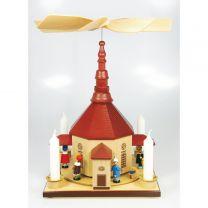 Pyramiden - Seiffener Kirche natur