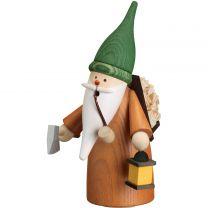 Räucherfigur - Wichtel Holzsammler