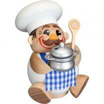 Kugelräucherfigur - Koch