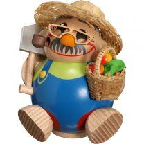 Kugelräucherfigur - Gärtner