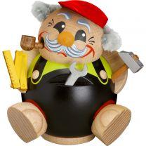 Kugelräucherfigur - Heimwerker