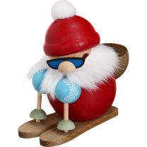Nikolaus läuft Ski