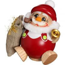 Kugelräucherfigur - Nikolaus