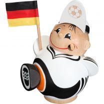 Kugelräucherfigur - Fußballfan