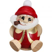 Nikolaus in rot - gold