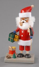 Räuchermann-Mini - Weihnachtsmann mit Spielzeug