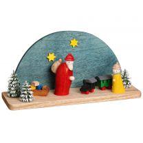Miniaturkrippe - Weihnachtsabend