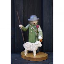 Räuchermann - Hirte mit Schaf